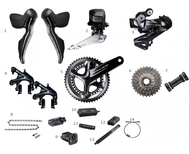 Group Shimano Dura-Ace 9150 DI2