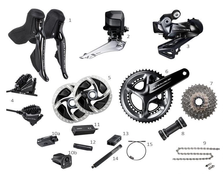 Group Shimano Dura-Ace 9170 DI2 Disc